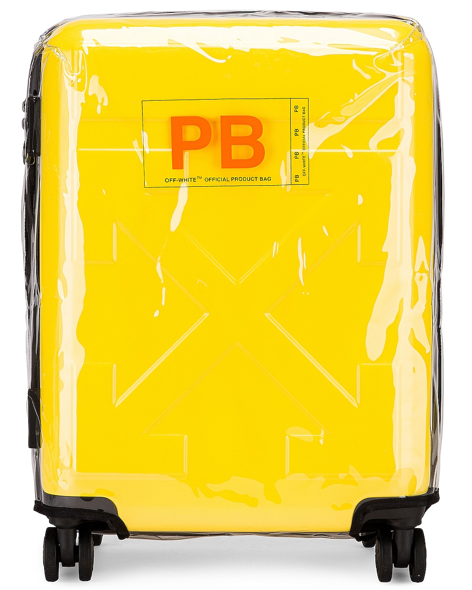 Image 5 of OFF-WHITE Arrow Trolley Luggage in Yellow