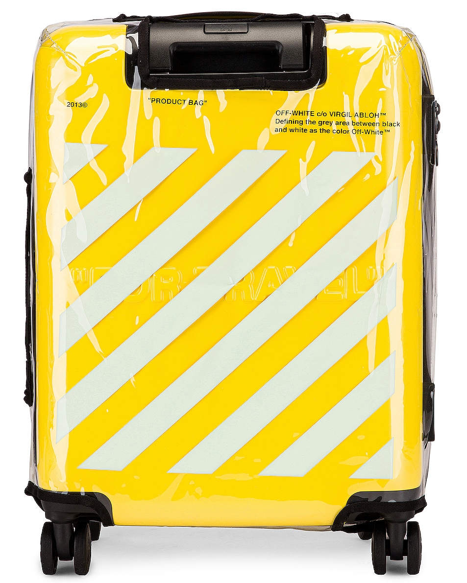 Image 6 of OFF-WHITE Arrow Trolley Luggage in Yellow