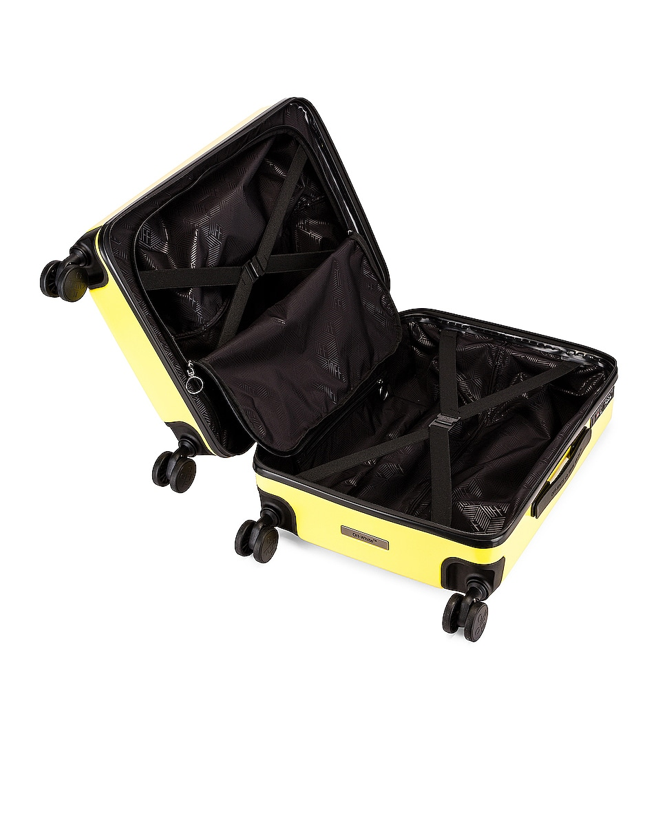 Image 7 of OFF-WHITE Arrow Trolley Luggage in Yellow
