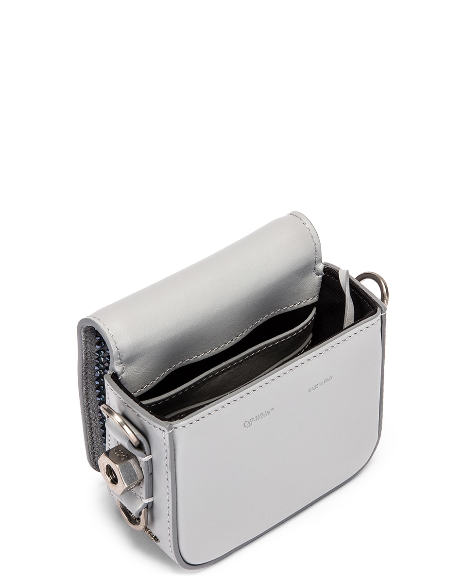 Image 5 of OFF-WHITE Baby Flap Bag in Crystal