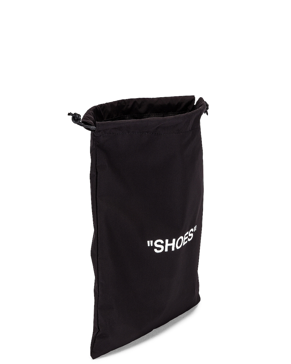 Image 4 of OFF-WHITE Shoes Pouch Bag in Black