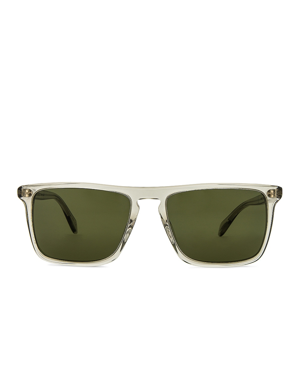 Image 1 of Oliver Peoples Bernardo Sunglasses in Black & Diamond