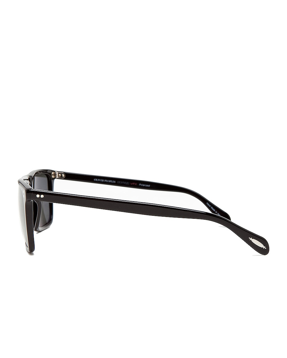 Image 3 of Oliver Peoples Bernardo in Black