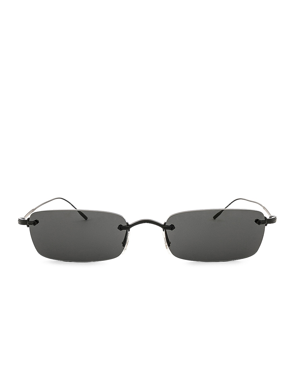 Image 1 of Oliver Peoples Daveigh in Matte Black