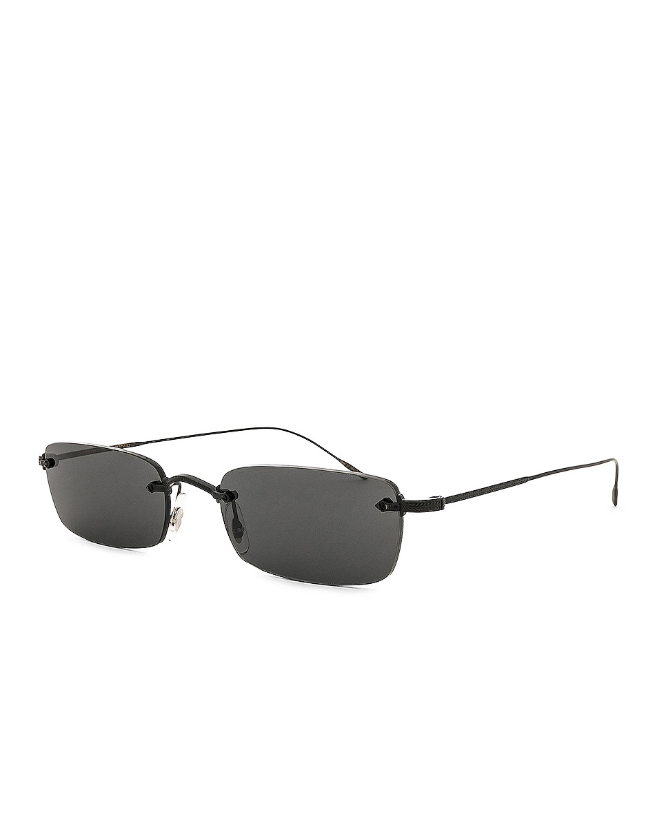 Image 2 of Oliver Peoples Daveigh in Matte Black