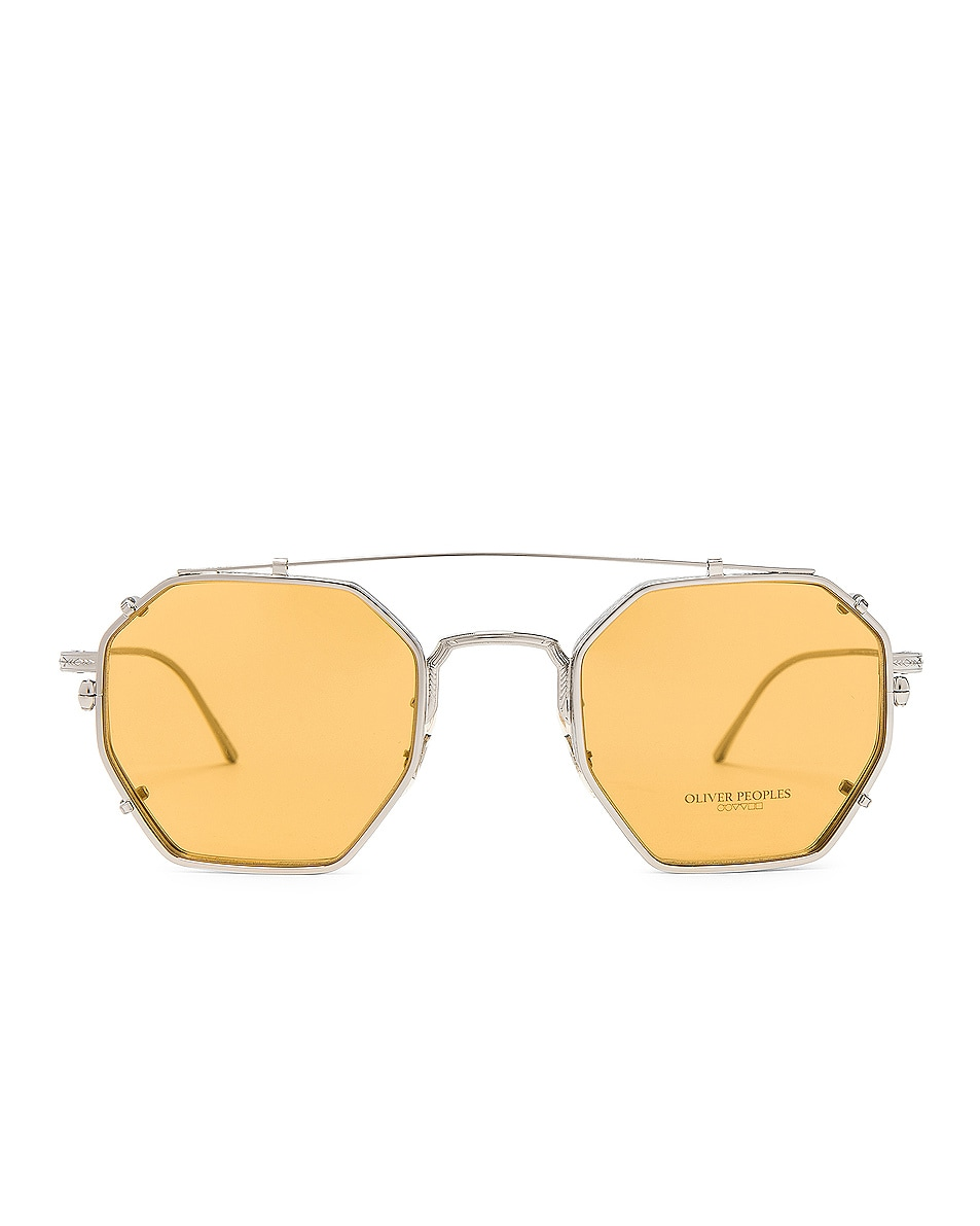 Image 1 of Oliver Peoples Assouline in Silver w/ Mustard