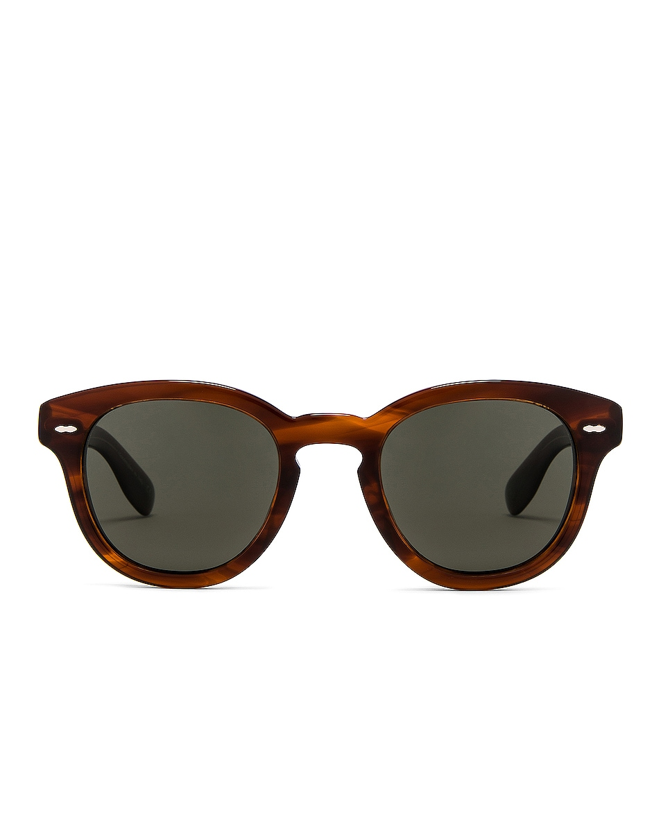 Image 1 of Oliver Peoples Cary Grant Sunglasses in Grant Tortoise