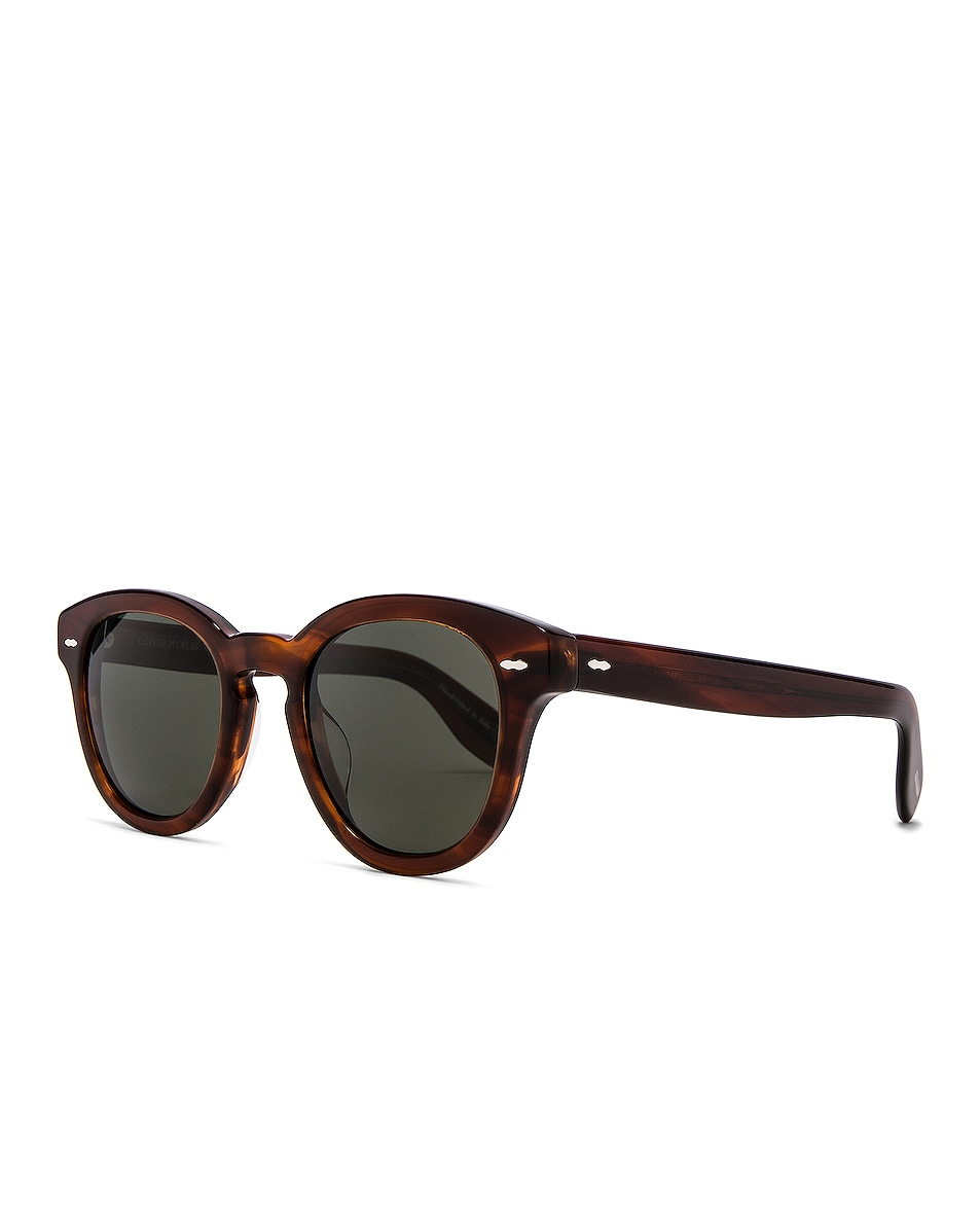 Image 2 of Oliver Peoples Cary Grant Sunglasses in Grant Tortoise