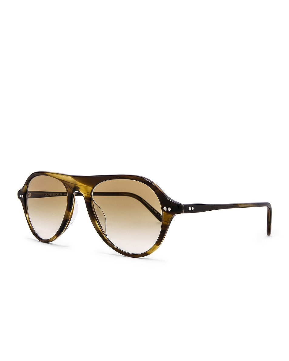 Image 2 of Oliver Peoples Emet in Bark & Honey Gradient