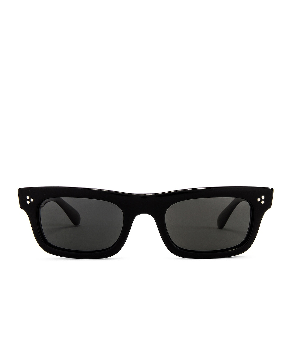 Image 1 of Oliver Peoples Jaye in Black & Midnight