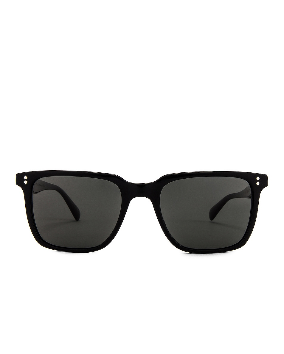 Image 1 of Oliver Peoples Lachman Sun in Black & Midnight