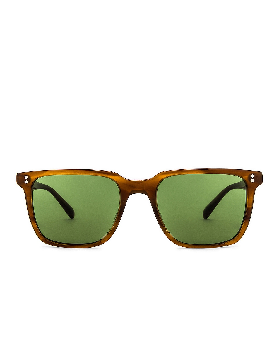 Image 1 of Oliver Peoples Lachman Sun in Raintree & Green C