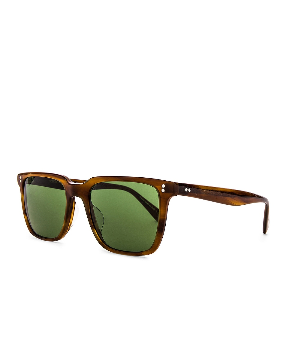 Image 2 of Oliver Peoples Lachman Sun in Raintree & Green C