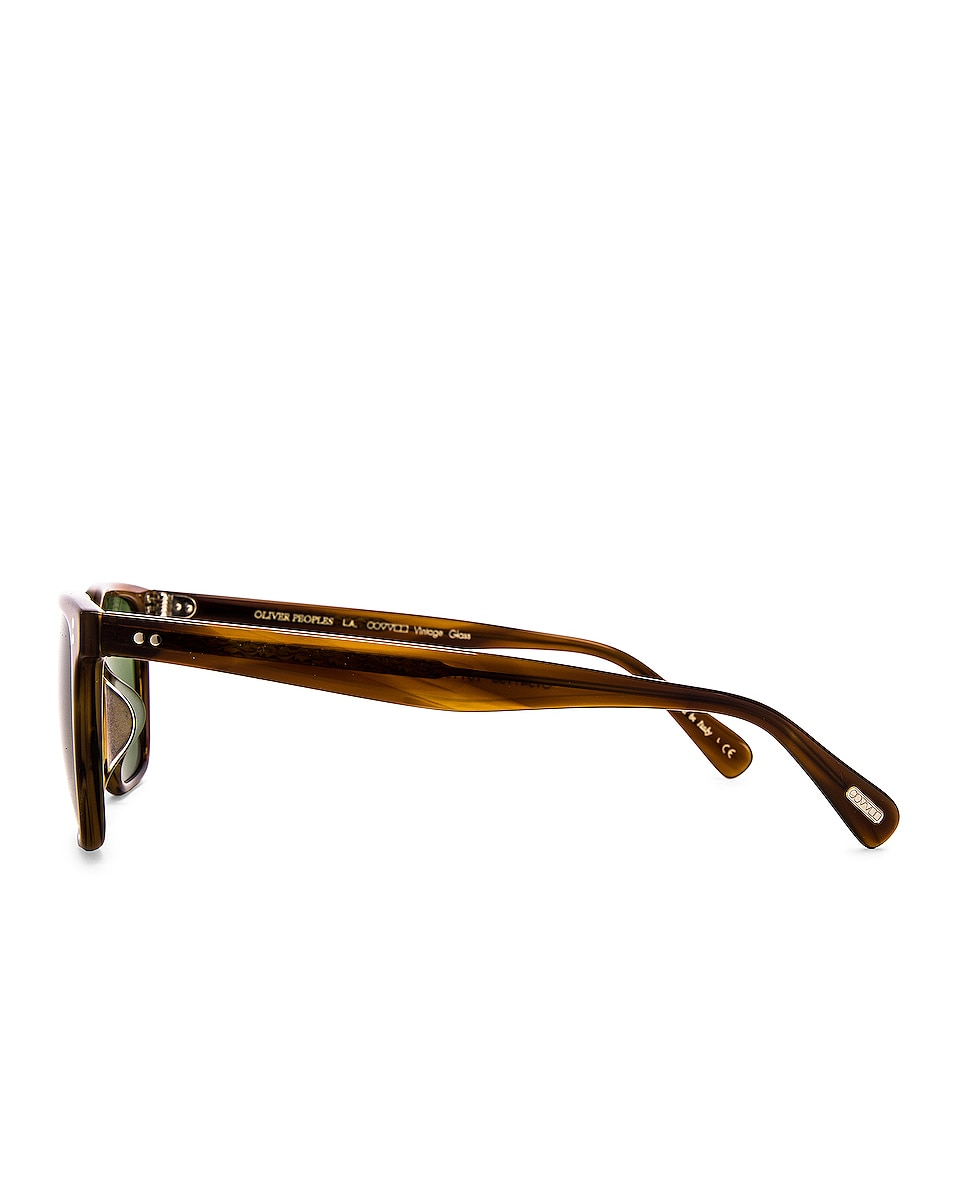 Image 3 of Oliver Peoples Lachman Sun in Raintree & Green C