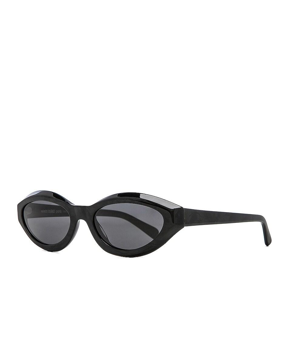 Image 2 of Oliver Peoples x Alain Mikli Desir Sunglasses in Noir Mikli