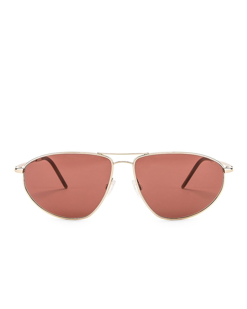Image 1 of Oliver Peoples Kallen Sunglasses in Soft Gold & Rosewood