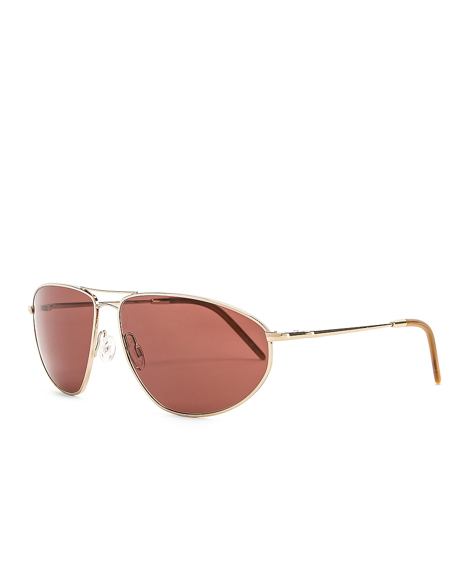 Image 2 of Oliver Peoples Kallen Sunglasses in Soft Gold & Rosewood