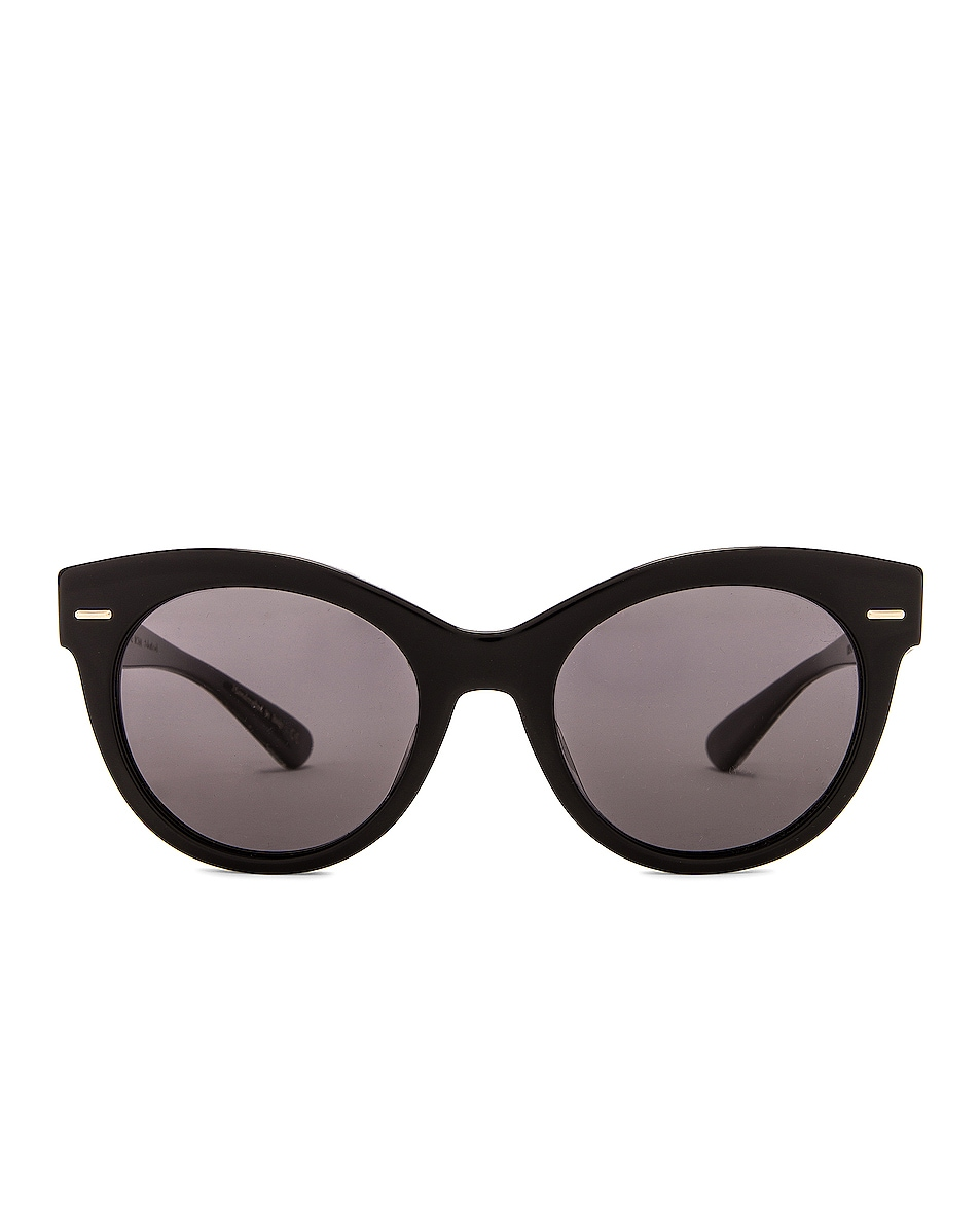 Image 1 of Oliver Peoples x The Row Georgica Sunglasses in Black