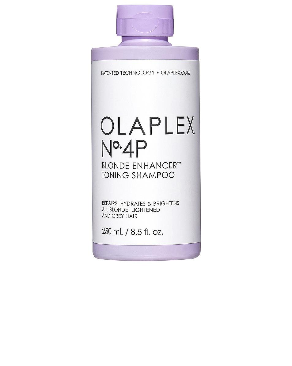 Image 1 of OLAPLEX No. 4-P Bond Maintenance Purple Shampoo in