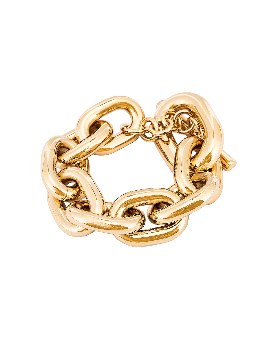 Image 1 of PACO RABANNE Large Chain Bracelet in Gold