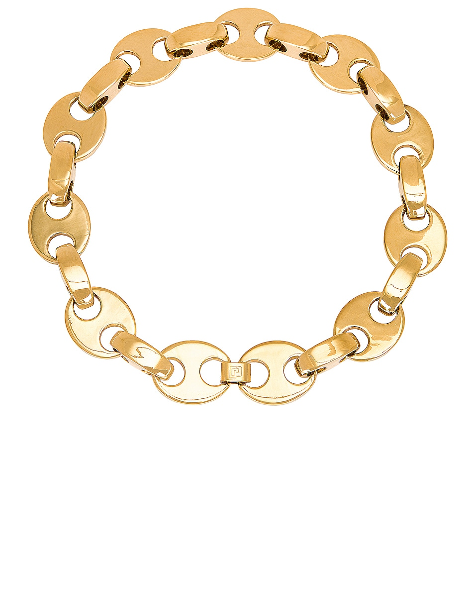 Image 1 of PACO RABANNE Eight Necklace in Gold