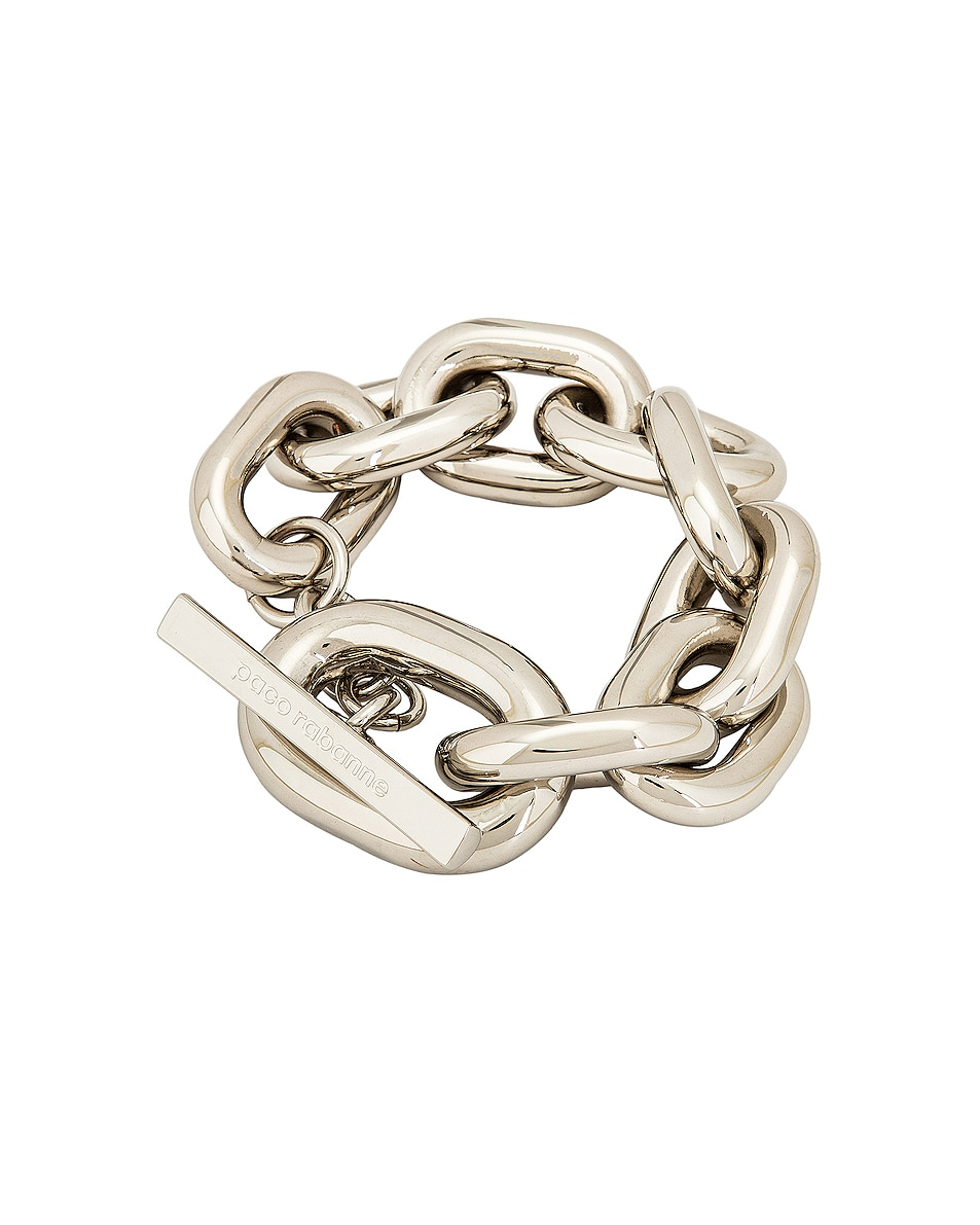 Image 1 of PACO RABANNE XL Link Bracelet in Silver