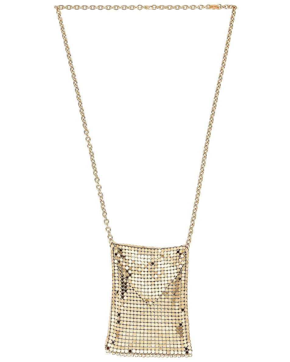 Image 1 of PACO RABANNE Mini Mesh Bag in Gold