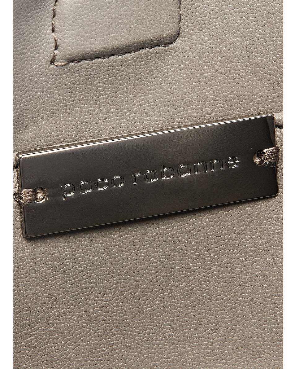 Image 6 of PACO RABANNE Square Nano 69 Bag in Silver