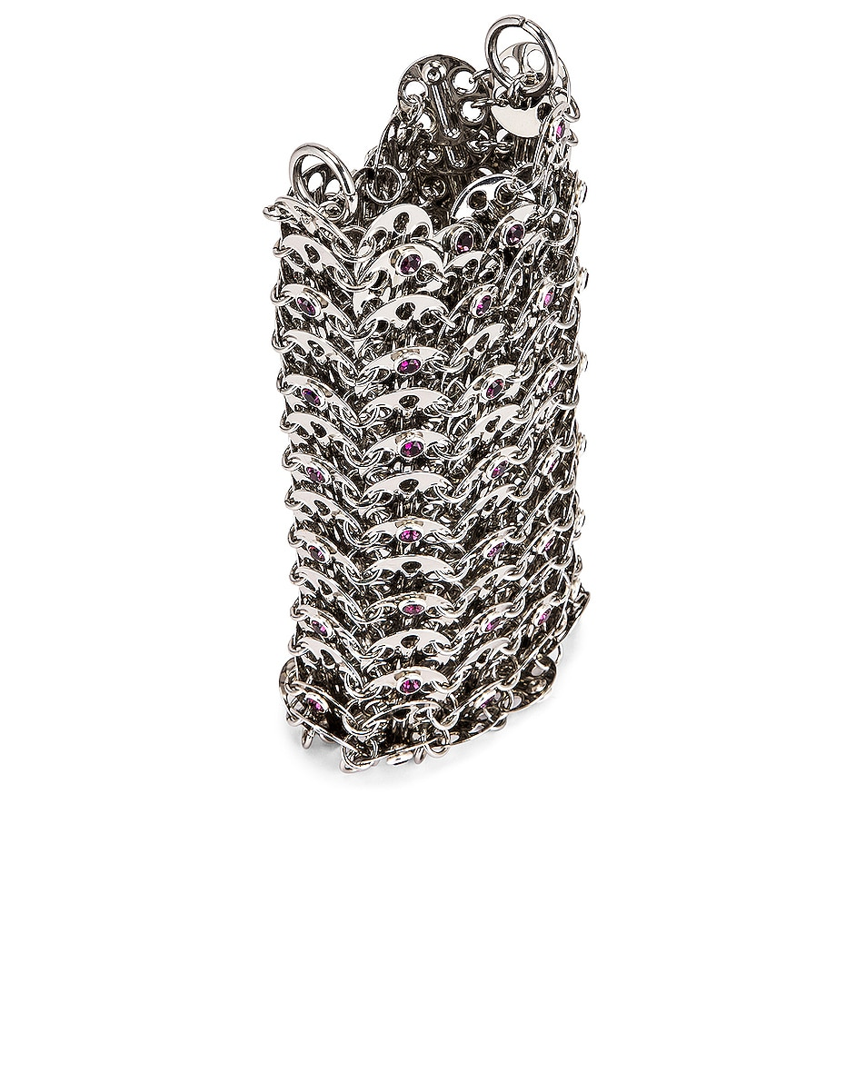 Image 5 of PACO RABANNE Mini 69 Bag in Silver
