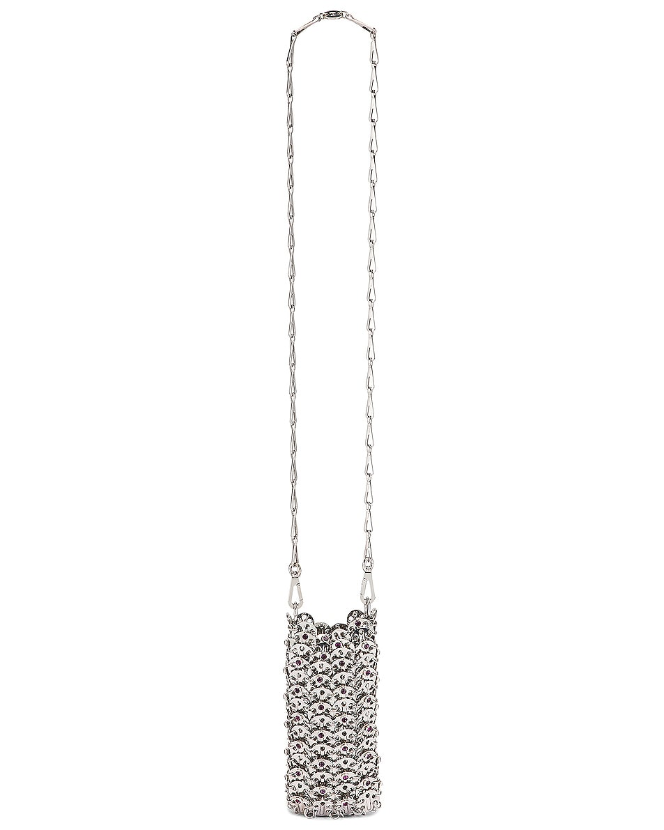 Image 6 of PACO RABANNE Mini 69 Bag in Silver