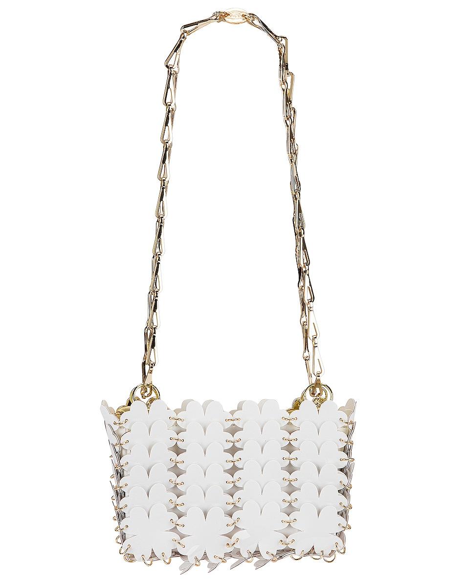 Image 1 of PACO RABANNE Sac Porte Epaul Clover Shoulder Bag in White