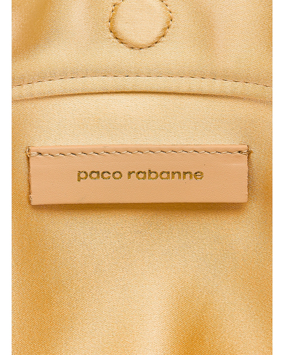 Image 6 of PACO RABANNE Iconic Square 1969 Bag in Light Gold