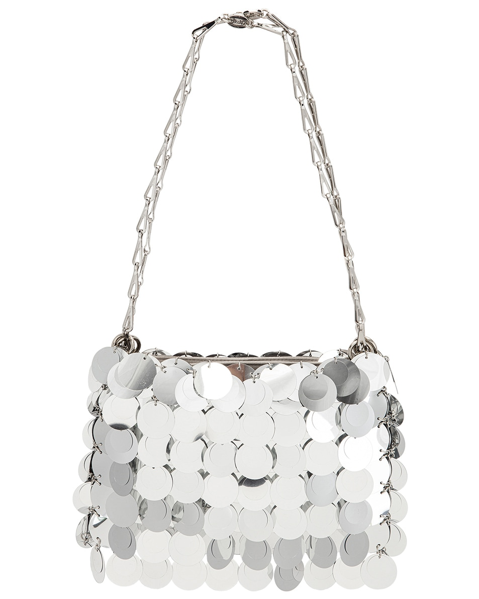 Image 1 of PACO RABANNE Sparkle 1969 Bag in Silver