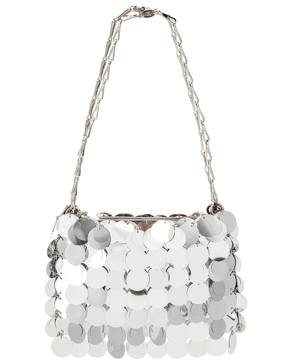 Image 3 of PACO RABANNE Sparkle 1969 Bag in Silver