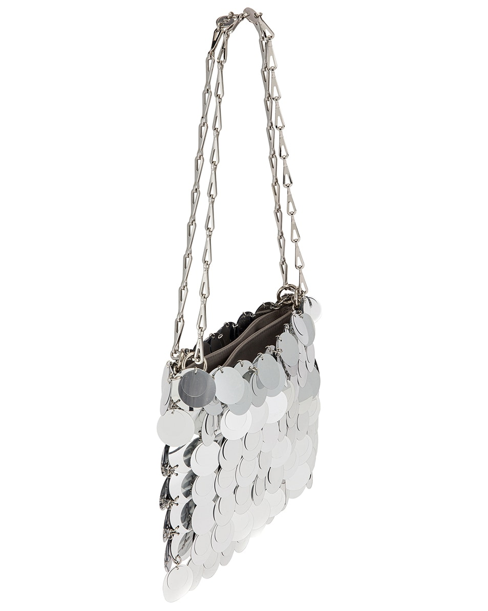 Image 4 of PACO RABANNE Sparkle 1969 Bag in Silver