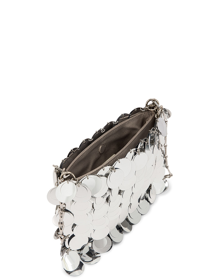 Image 5 of PACO RABANNE Sparkle 1969 Bag in Silver