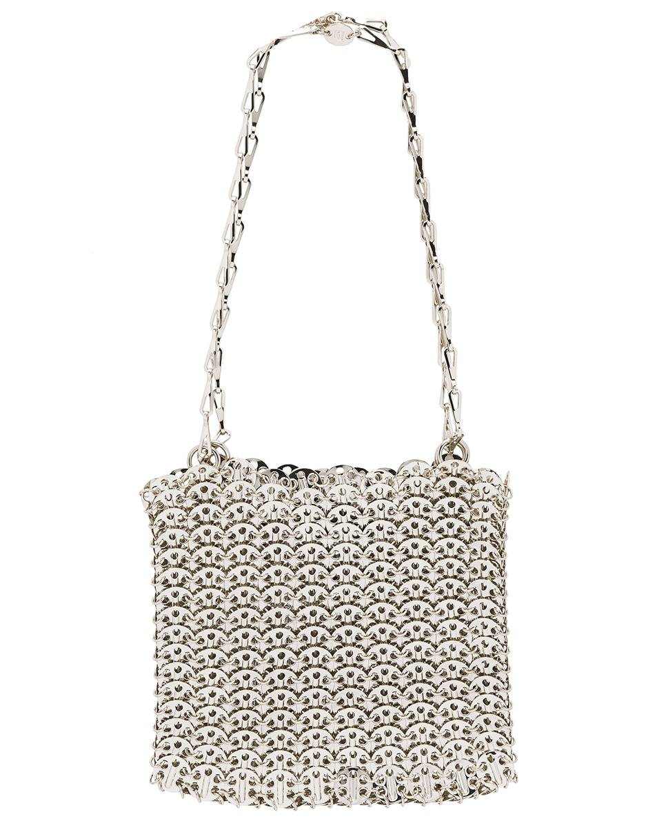 Image 3 of PACO RABANNE Iconic 1969 Bag in Silver
