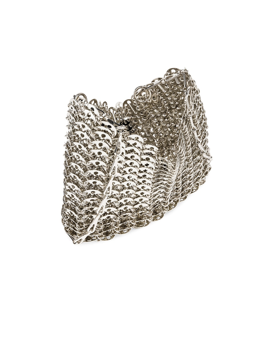 Image 5 of PACO RABANNE Iconic 1969 Bag in Silver