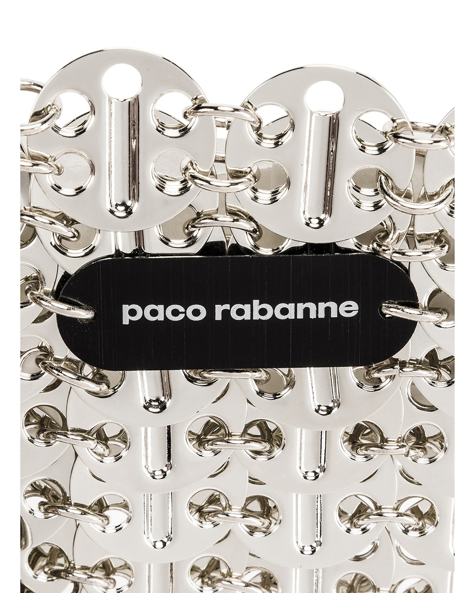 Image 6 of PACO RABANNE Iconic 1969 Bag in Silver