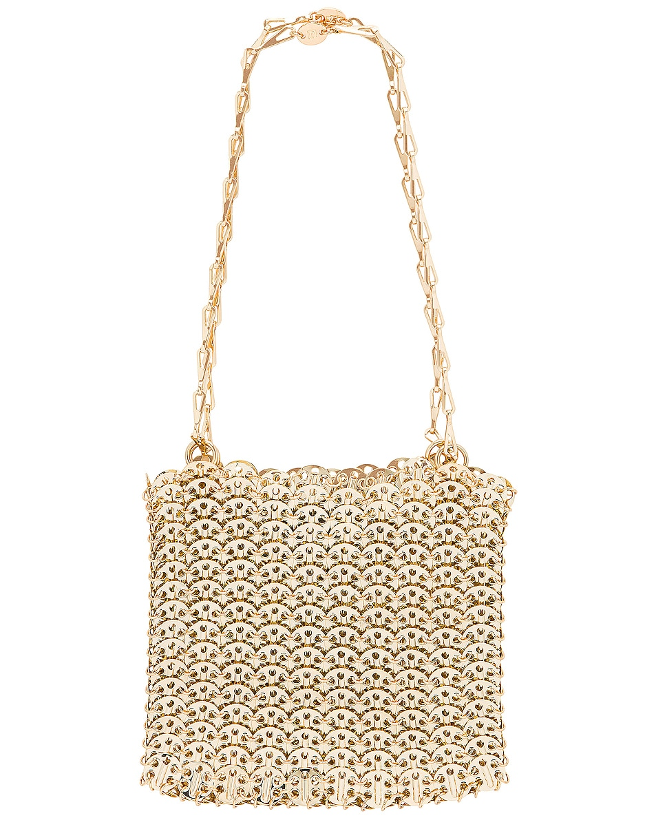 Image 1 of PACO RABANNE Iconic 1969 Bag in Light Gold