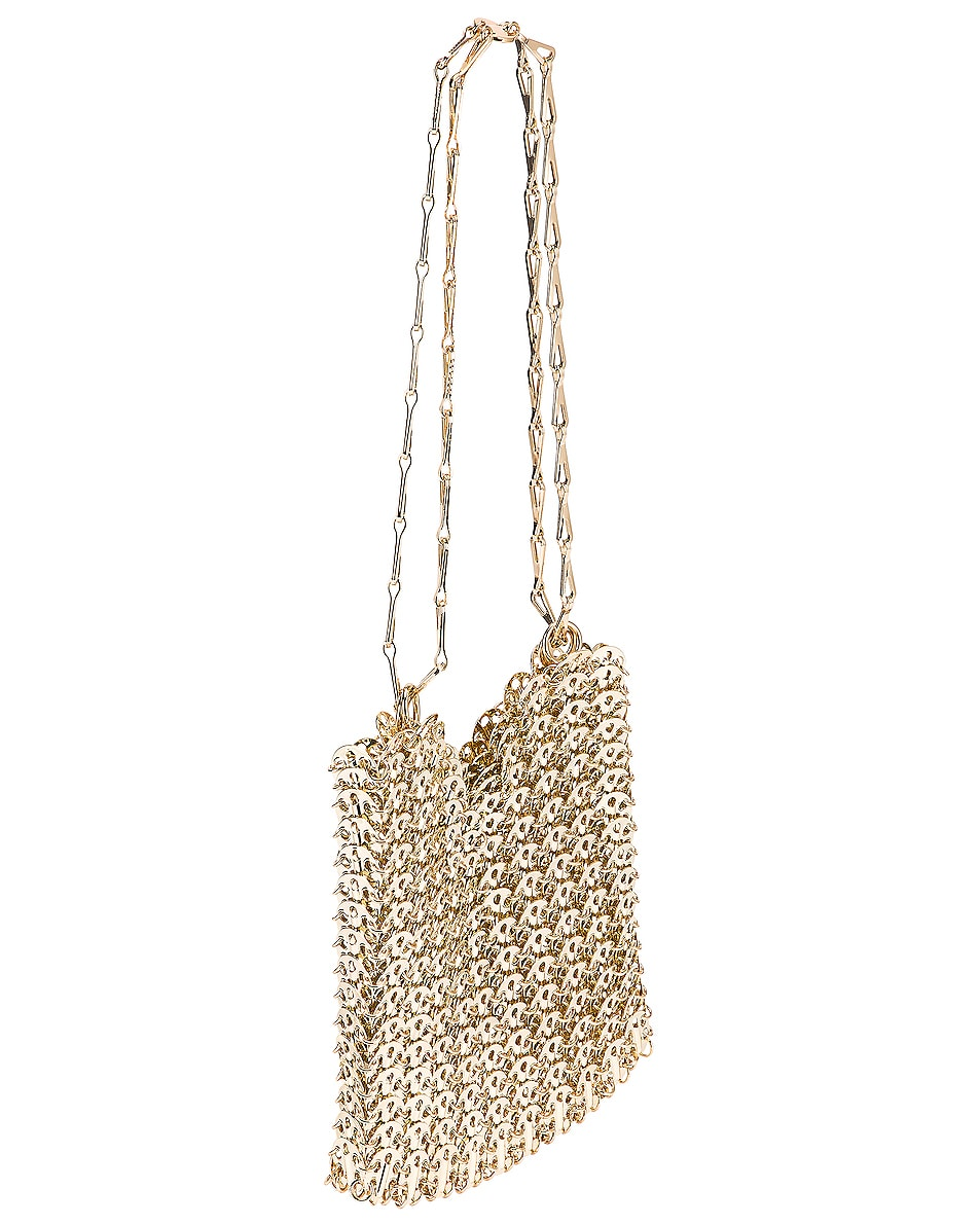 Image 4 of PACO RABANNE Iconic 1969 Bag in Light Gold