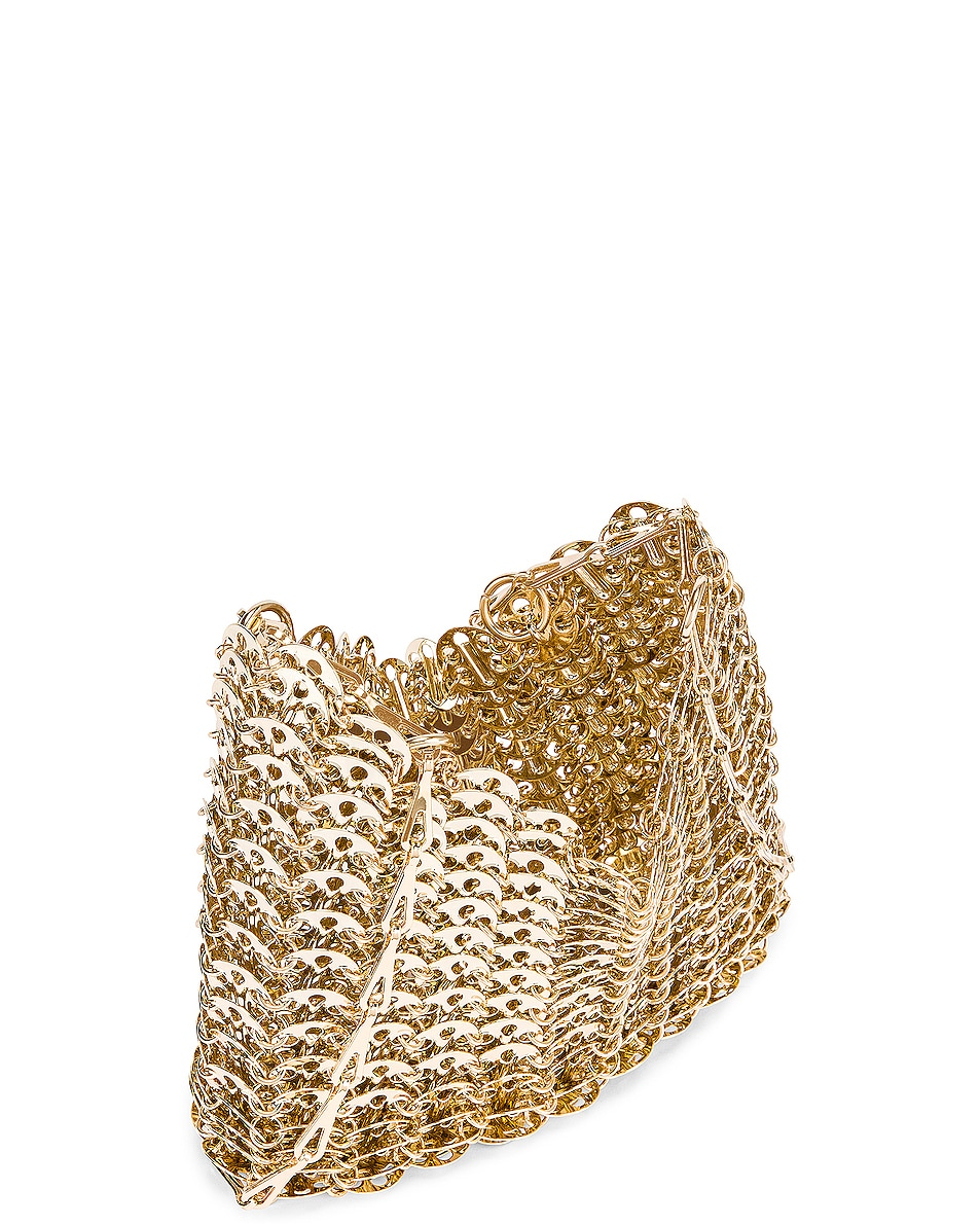 Image 5 of PACO RABANNE Iconic 1969 Bag in Light Gold