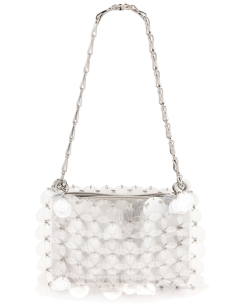 Image 1 of PACO RABANNE Sparkle 1969 Disc Bag in Transparent