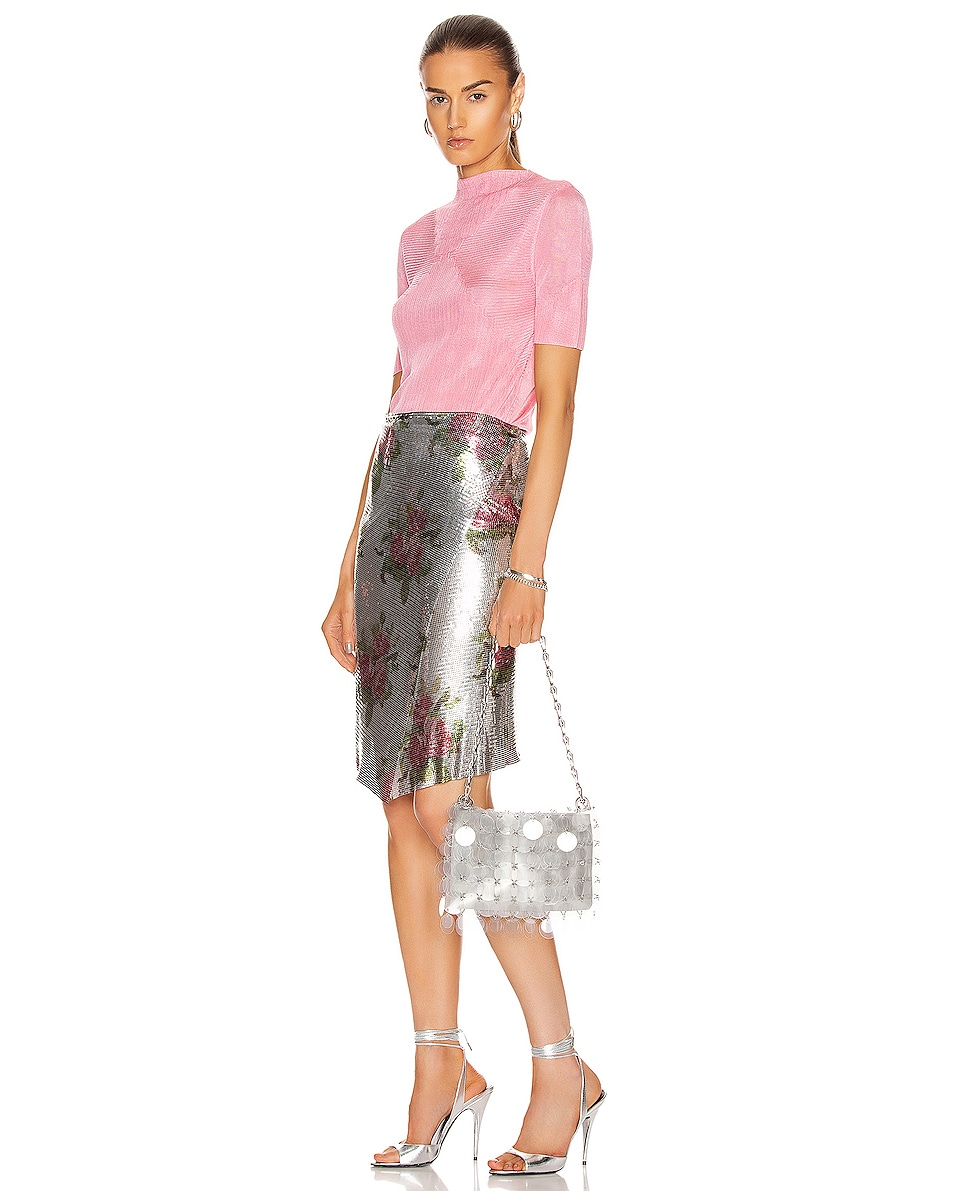 Image 2 of PACO RABANNE Sparkle 1969 Disc Bag in Transparent
