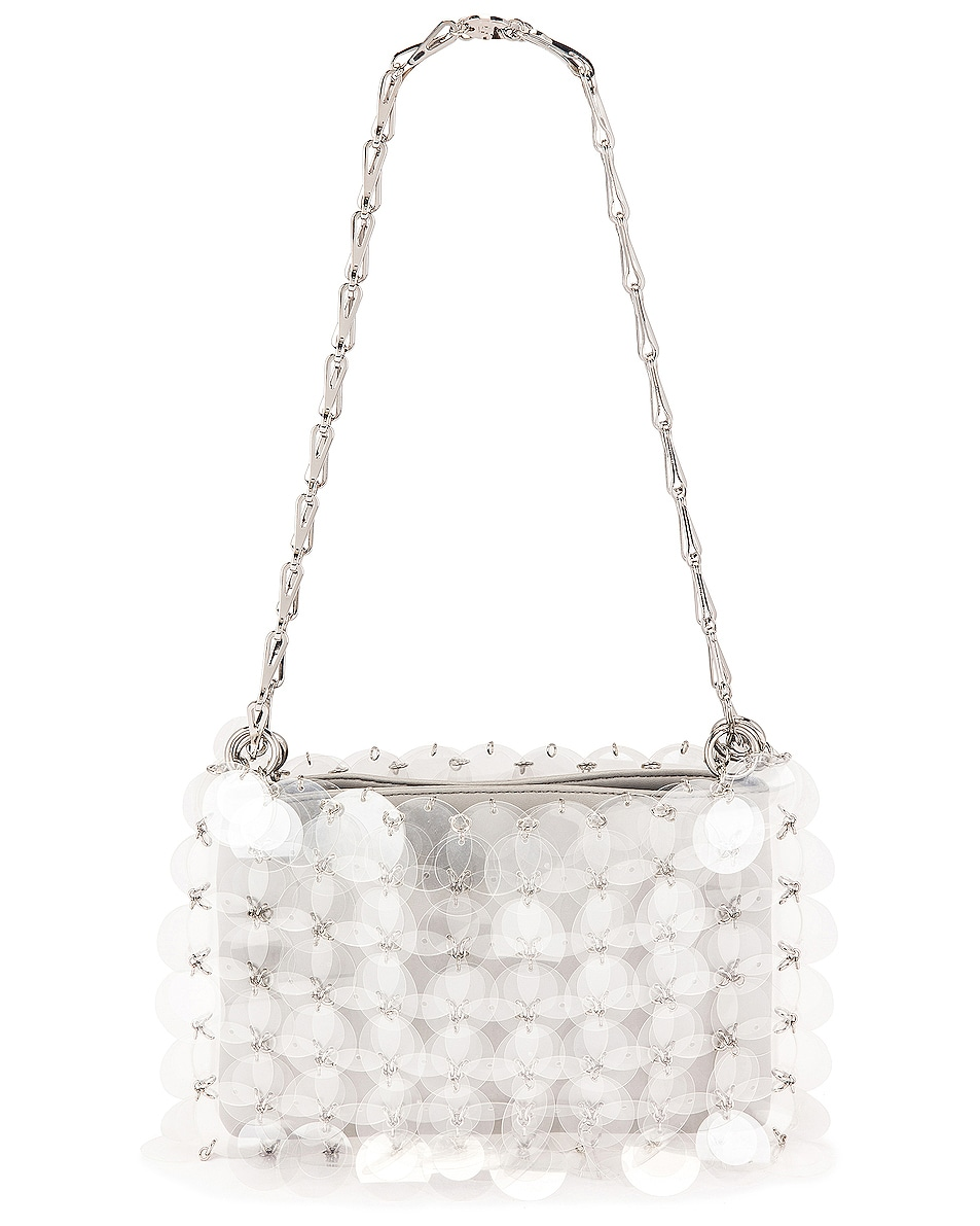 Image 3 of PACO RABANNE Sparkle 1969 Disc Bag in Transparent