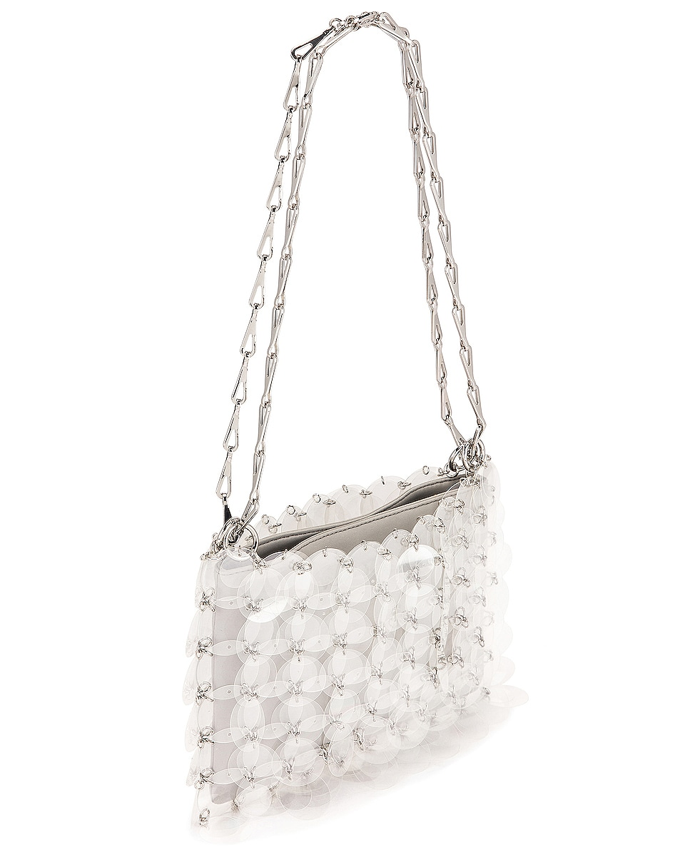Image 4 of PACO RABANNE Sparkle 1969 Disc Bag in Transparent