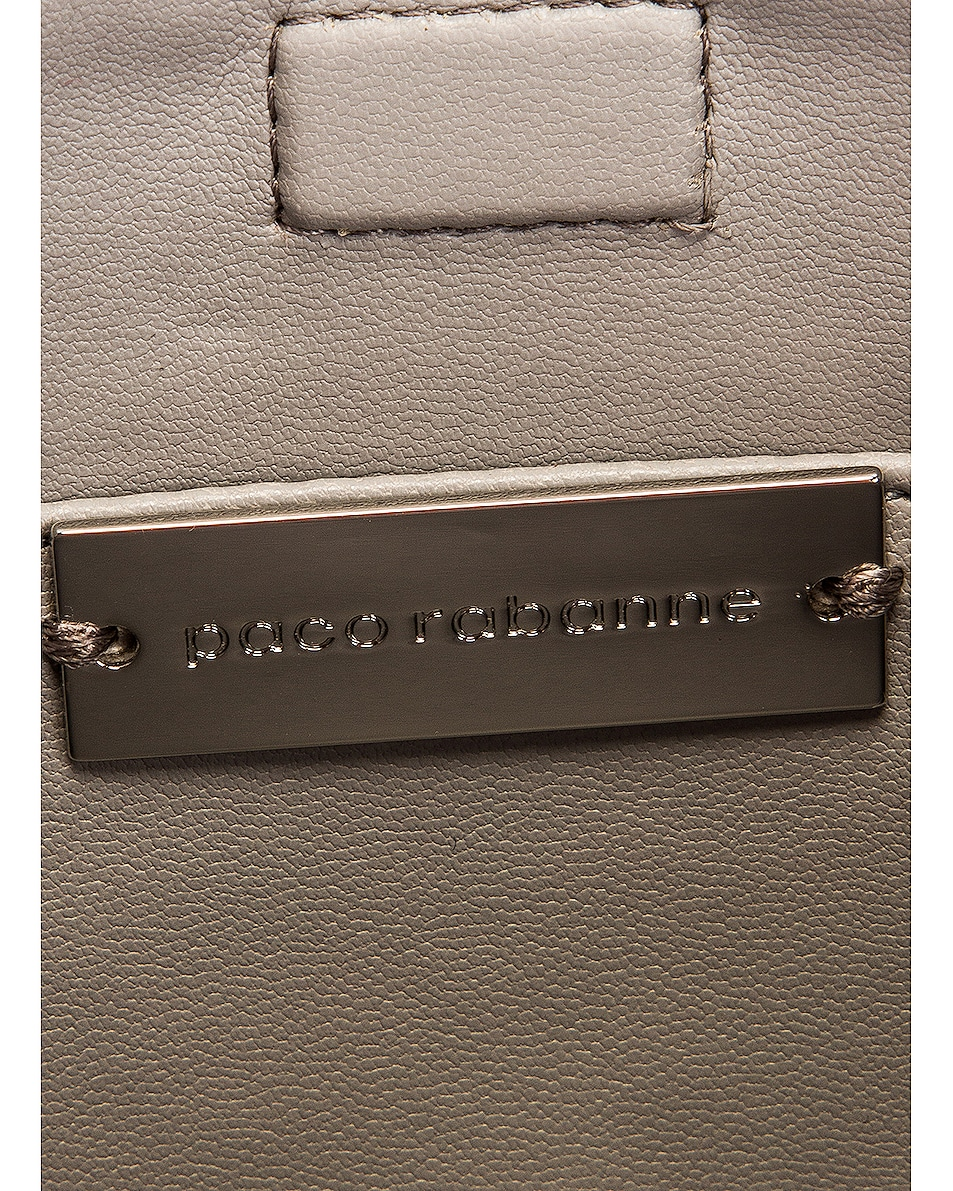 Image 6 of PACO RABANNE Sparkle 1969 Disc Bag in Transparent