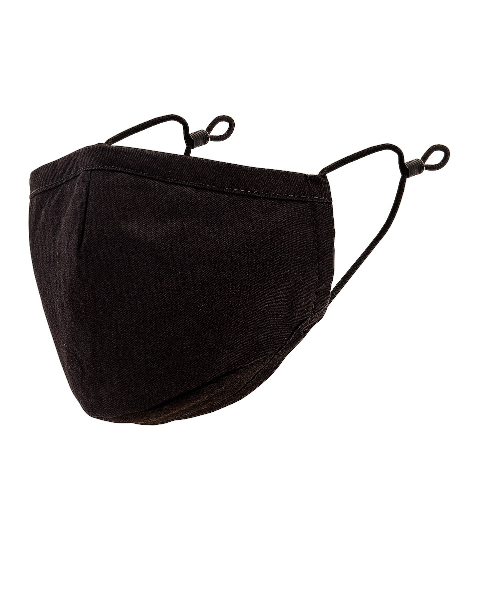 Image 1 of Profound Triple Layered Protective Face Mask in Black