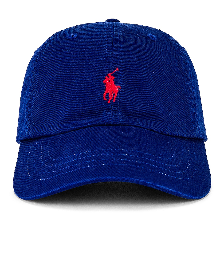 Image 1 of Polo Ralph Lauren Classic Chino Cap in Heritage Royal