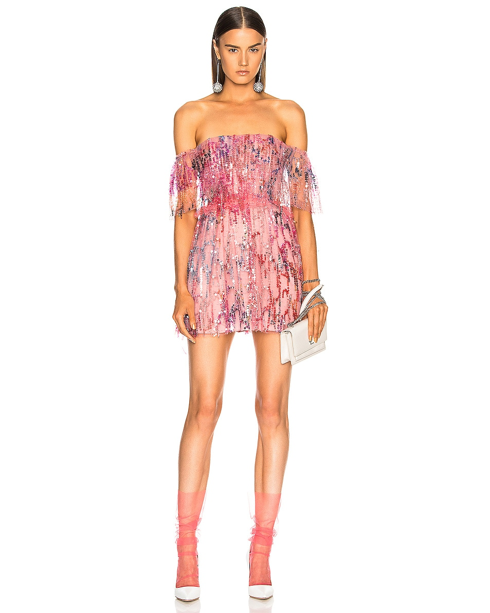 Image 2 of Pan & The Dream Italian Nylon Tulle Socks in Pink